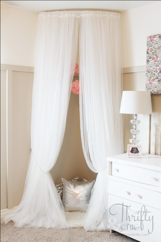 Curtains Ideas curtain rod canopy bed : 10 DIY Canopy Beds - Bedroom and Canopy Decorating Ideas