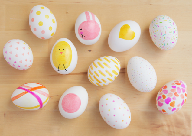 50 Fun Easter Egg Designs - Creative Ideas for Decorating Easter ...