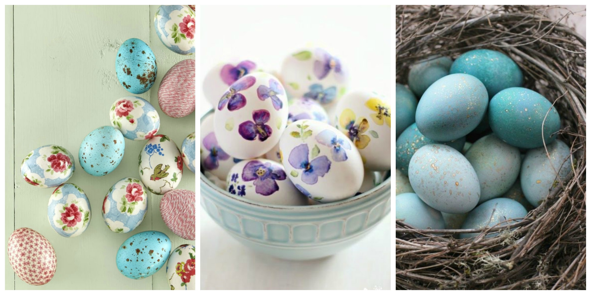 Though we'll always love the classic method of dyeing eggs, there are so many creative Easter egg decorating ideas to try. Get the whole family in on these these fun Easter crafts, including.