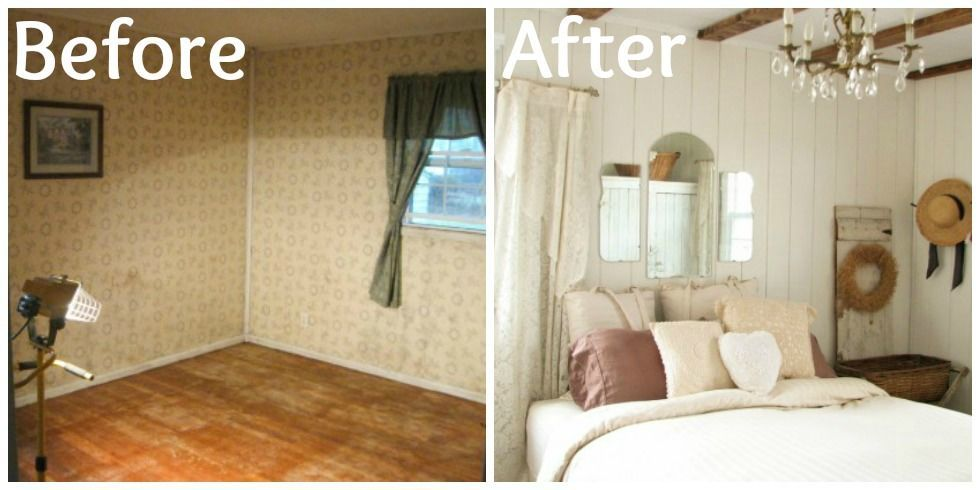 See how one blogger created a rustic sanctuary with thrifty DIYs. Prodigal Pieces Farmhouse Bedroom Makeover   Farmhouse Decorating