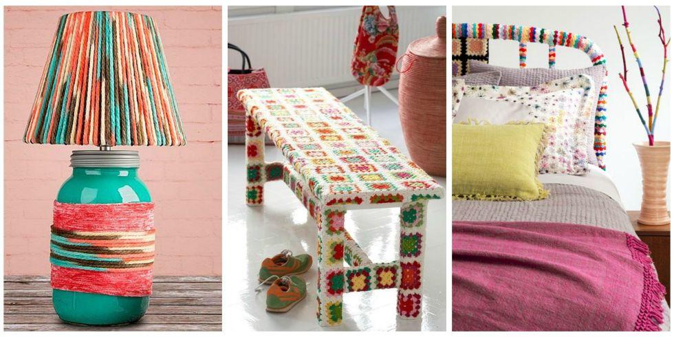 13 Creative Ideas for Yarnbombing Your Home - Yarn Crafts
