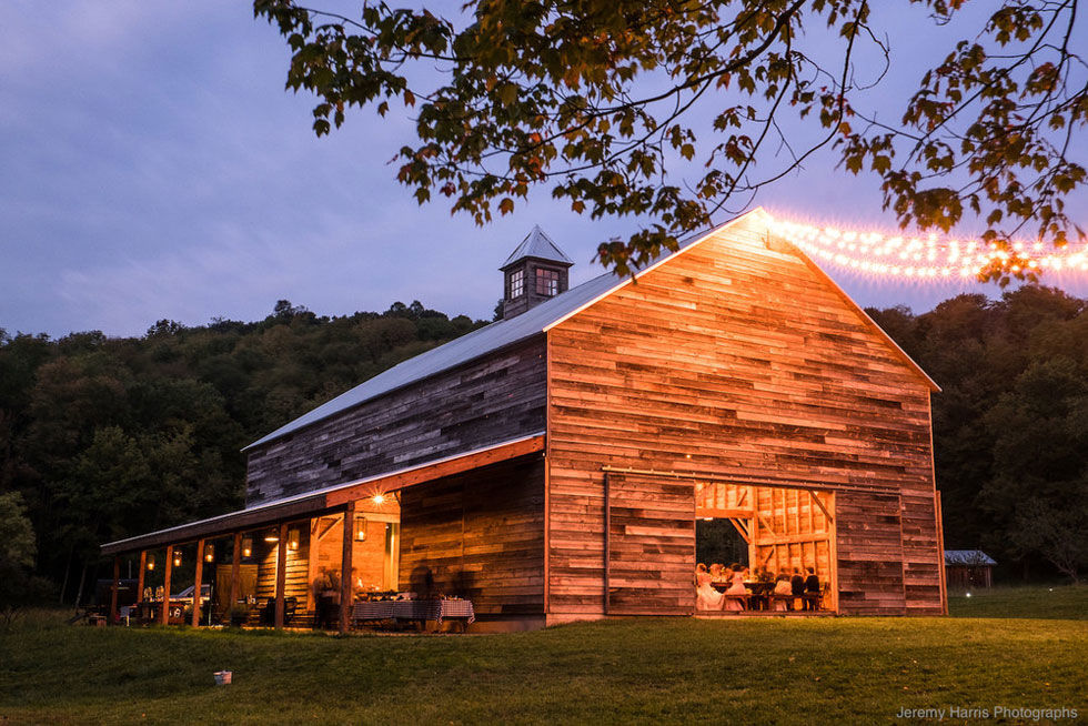 30 charmingly rustic barn wedding venues - rustic wedding venues