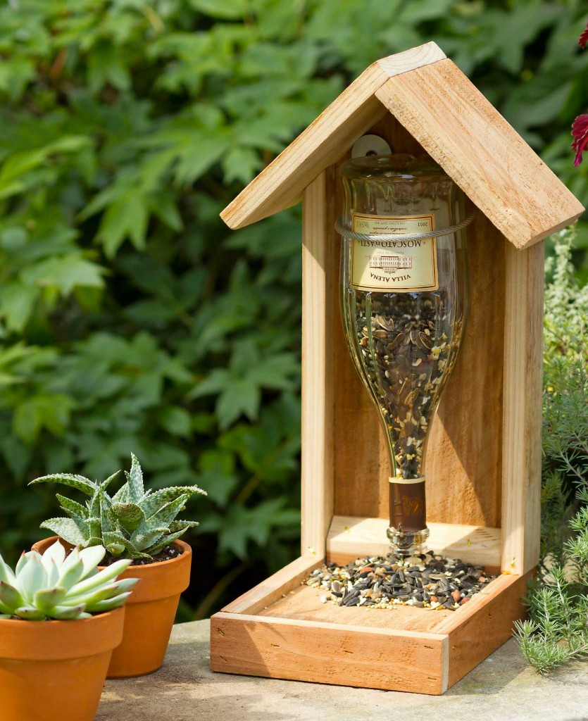 10 diy bird feeders that will fill your garden with for How to make homemade bird houses