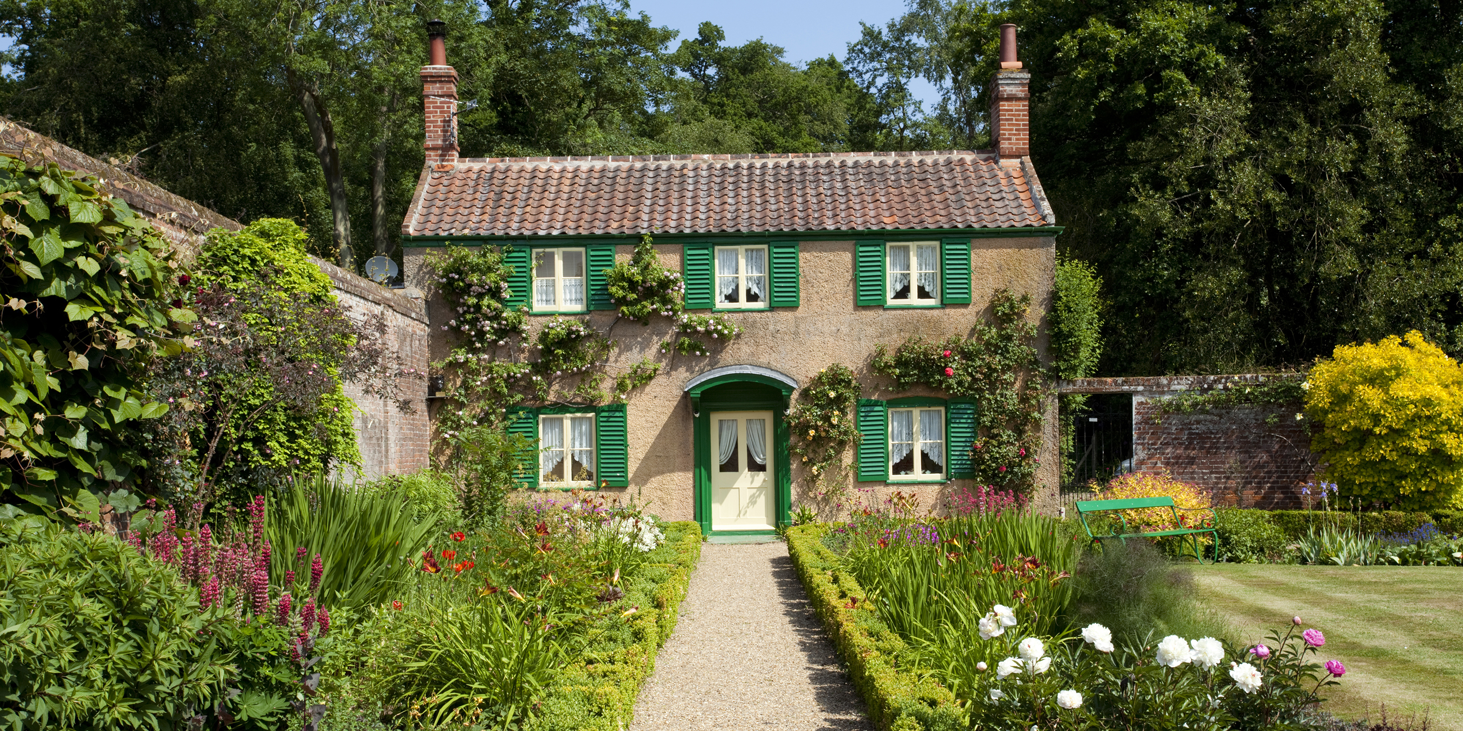 English country cottage house the image for Country cottage house