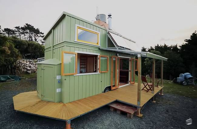 Pleasing This Tiny House Generates Enough Energy To Go Off Grid Jeff Largest Home Design Picture Inspirations Pitcheantrous
