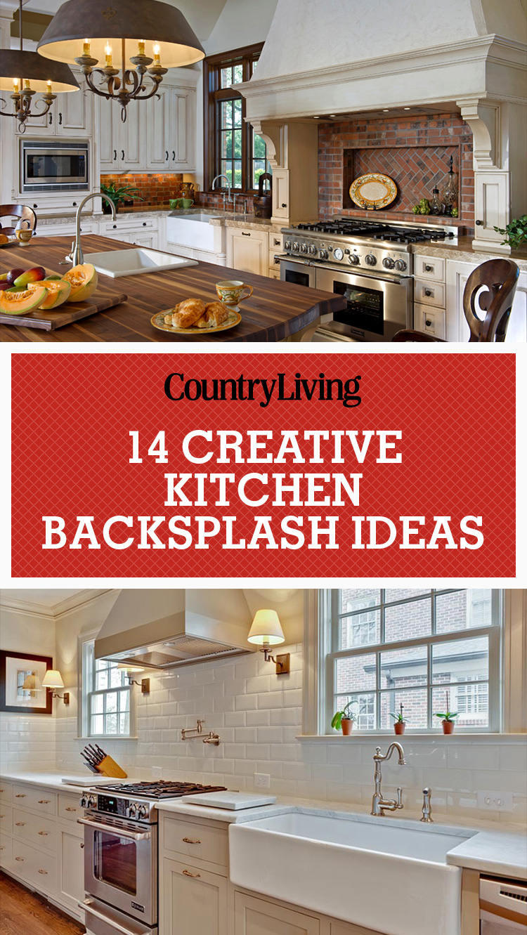 Kitchen Backsplash Red inspiring kitchen backsplash ideas - backsplash ideas for granite