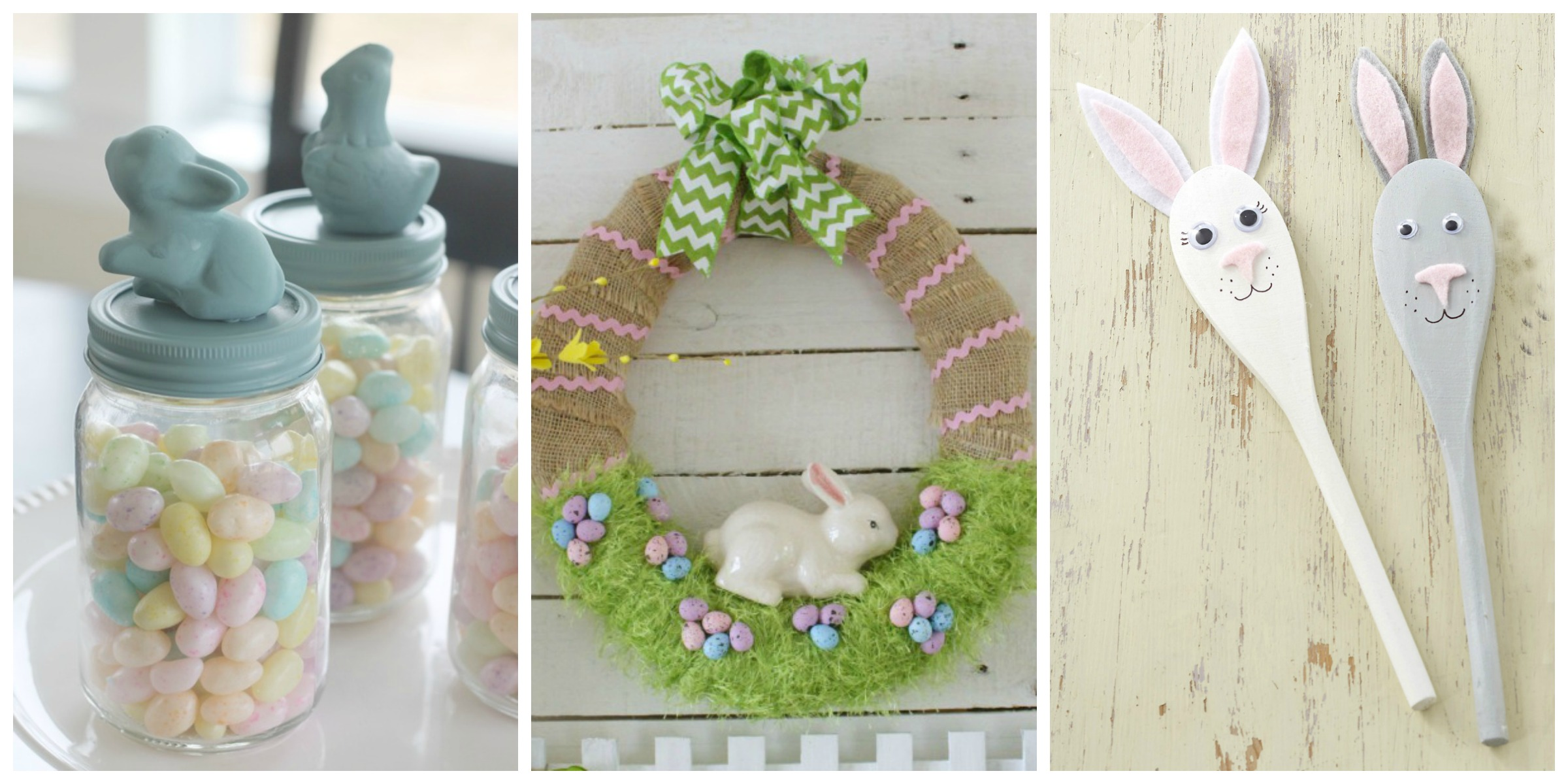 30 diy easter decorations from pinterest homemade easter for Diy easter decorations home