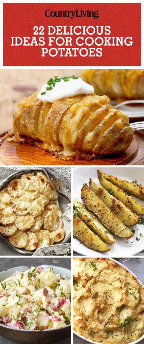 35+ Easy Potato Recipes - How To Cook Potatoes