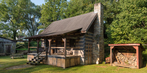 This Tennessee Log Cabin Has The Most Delightful Surprise