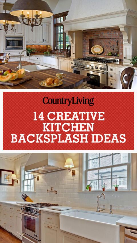 Inspiring Kitchen Backsplash Ideas Backsplash Ideas For Granite - Kitchen backsplash pictures ideas