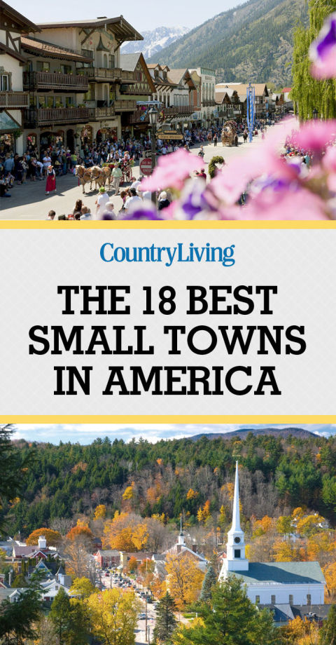 The Most Beautiful Small Towns 9 Of The Best Small Towns