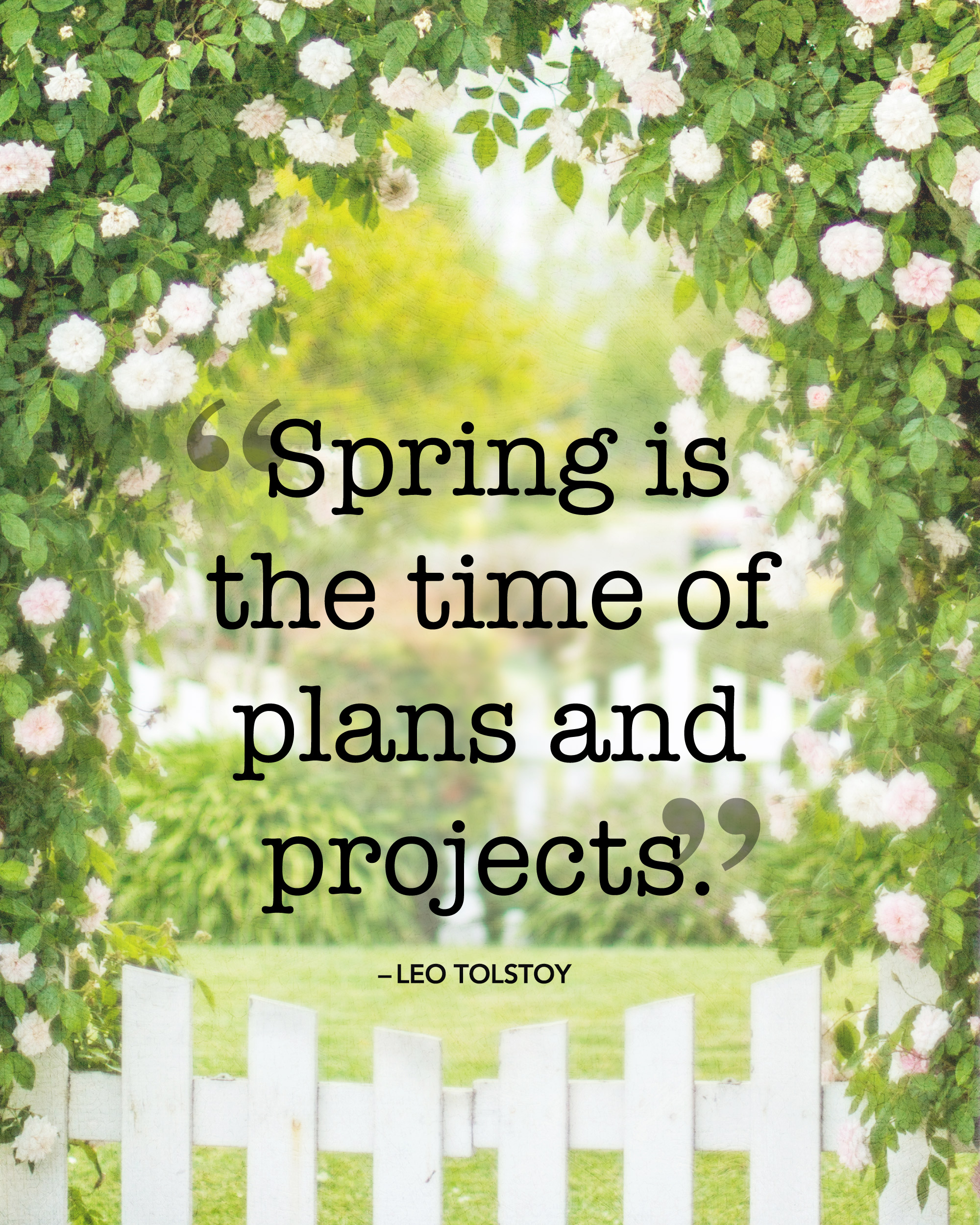 Sayings About Spring