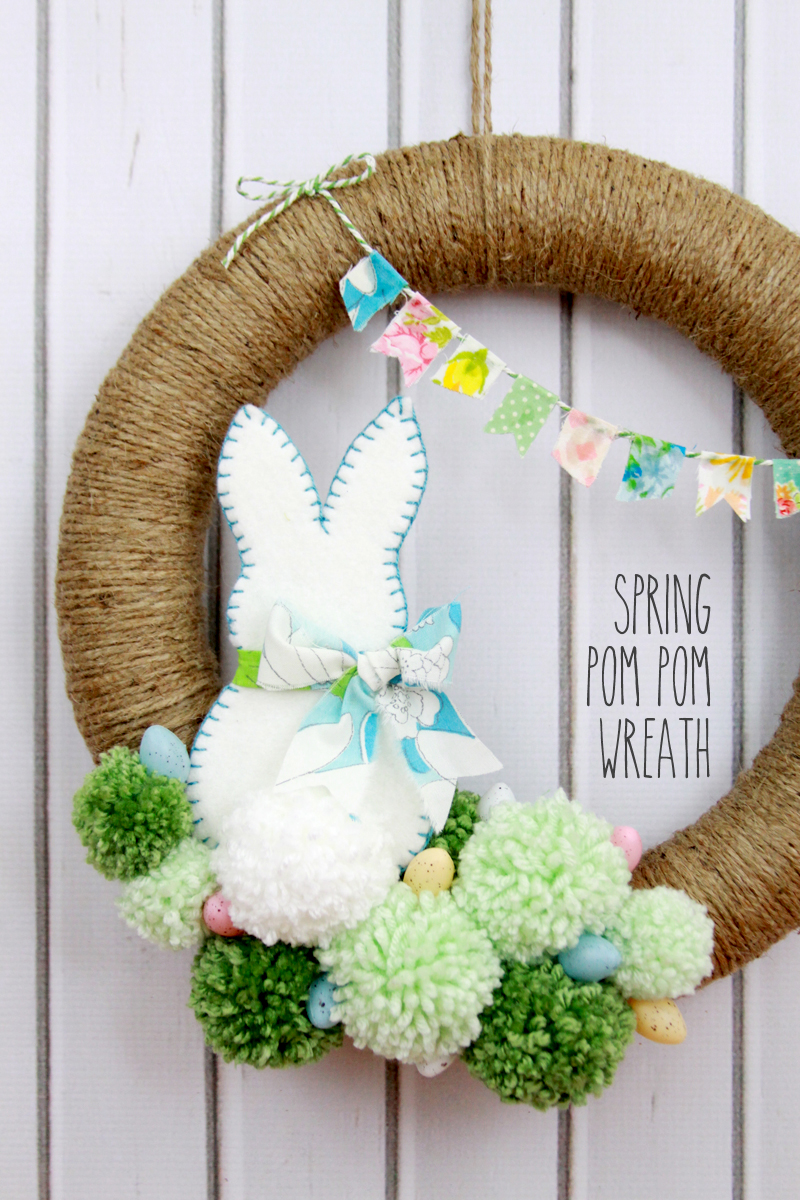 23 DIY Spring Wreaths - How to Make a Spring Wreath Yourself