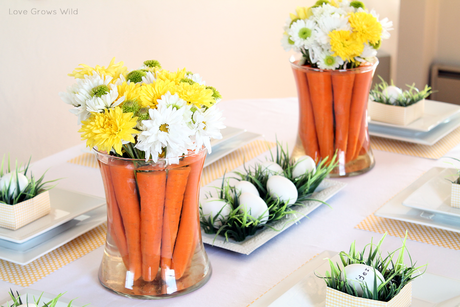 20 easter table decorations centerpieces for easter - Table easter decorations ...
