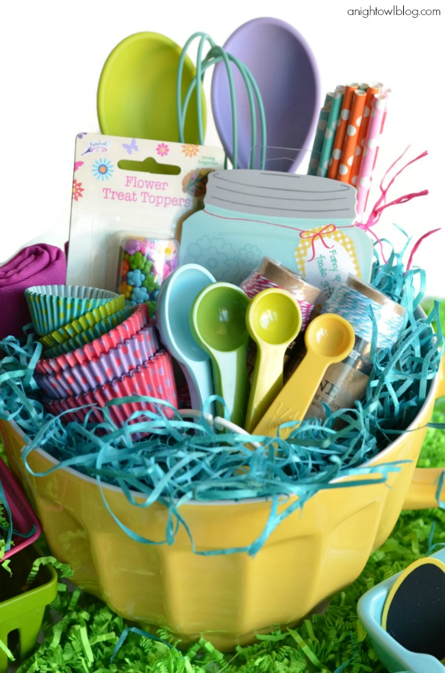 Easter basket gift ideas for adults my web value 20 cute homemade easter basket ideas easter gifts for kids and adults negle
