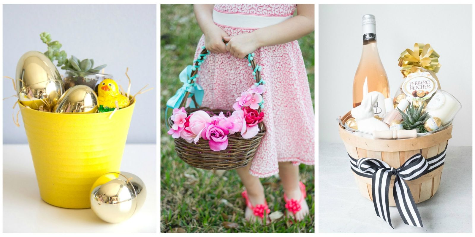 20 Cute Homemade Easter Basket Ideas Easter Gifts For