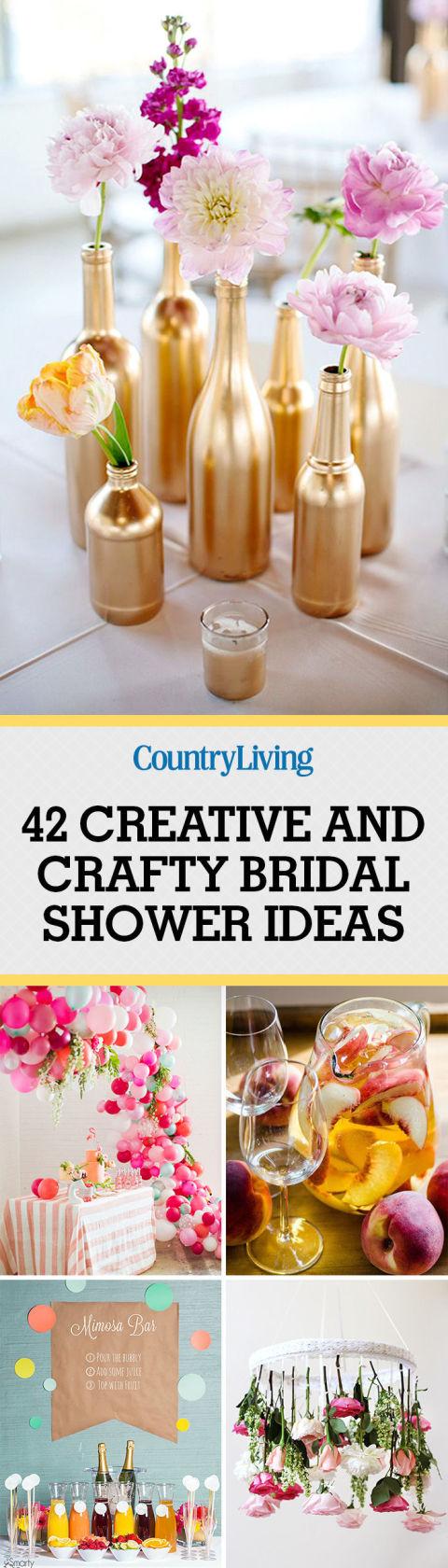 bridal shower crafts activities