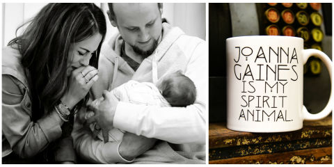 Fixer upper fans help couple adopt swallows grace mugs for Chip and joanna gaines children adopted