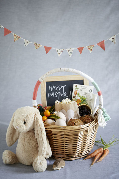 20 cute homemade easter basket ideas easter gifts for kids and healthy treats easter basket negle Images