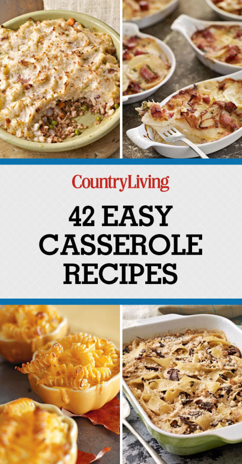 Easy hearty casserole recipes