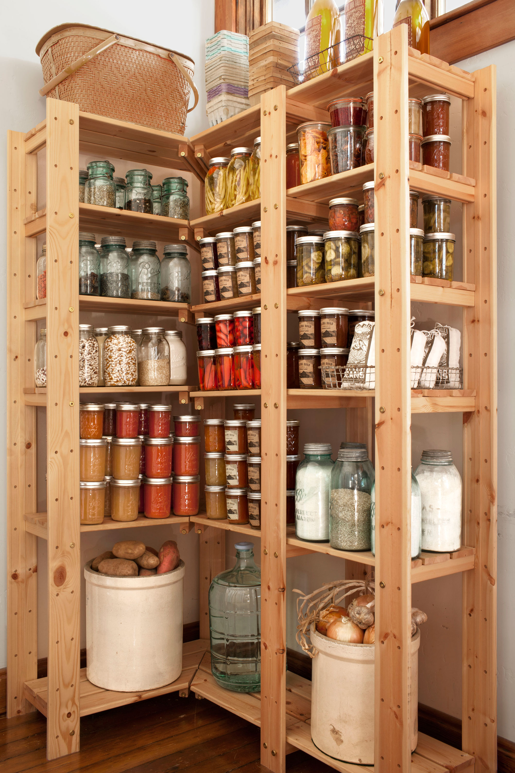 Kitchen Pantry Shelving 14 Smart Ideas For Kitchen Pantry Organization Pantry Storage Ideas