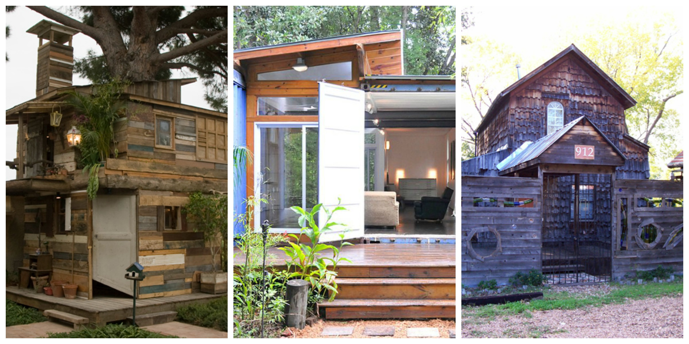 Houses Built With Recycled Materials : Houses made from trash sustainable homes built