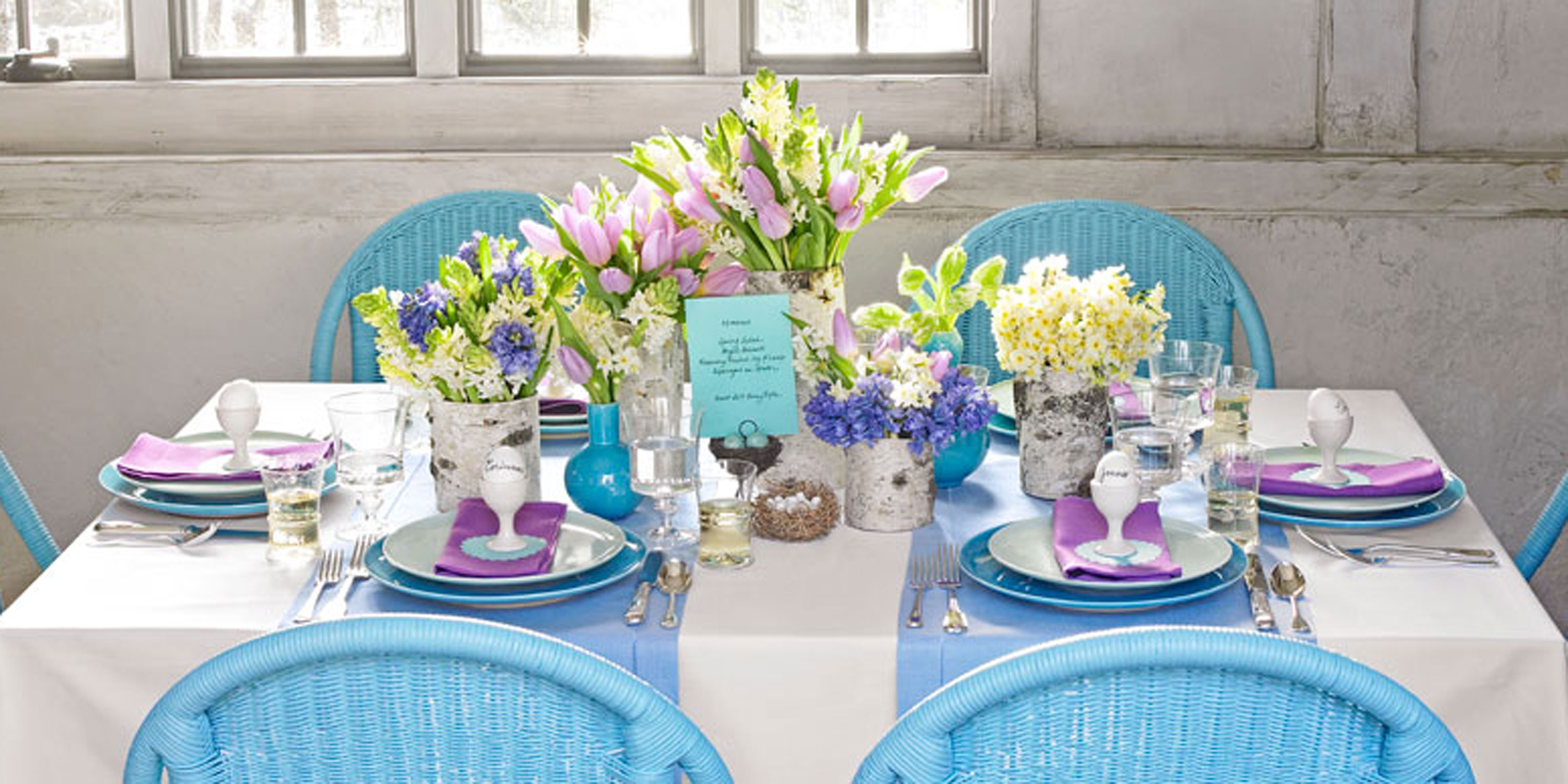 58 spring centerpieces and table decorations ideas for Best table decoration ideas