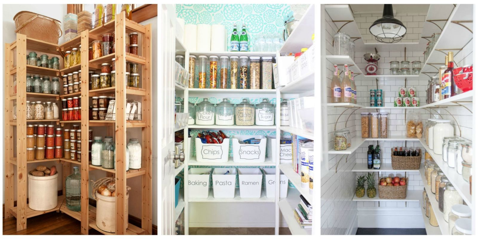 Organizing Kitchen Pantry 14 Smart Ideas For Kitchen Pantry Organization Pantry Storage Ideas
