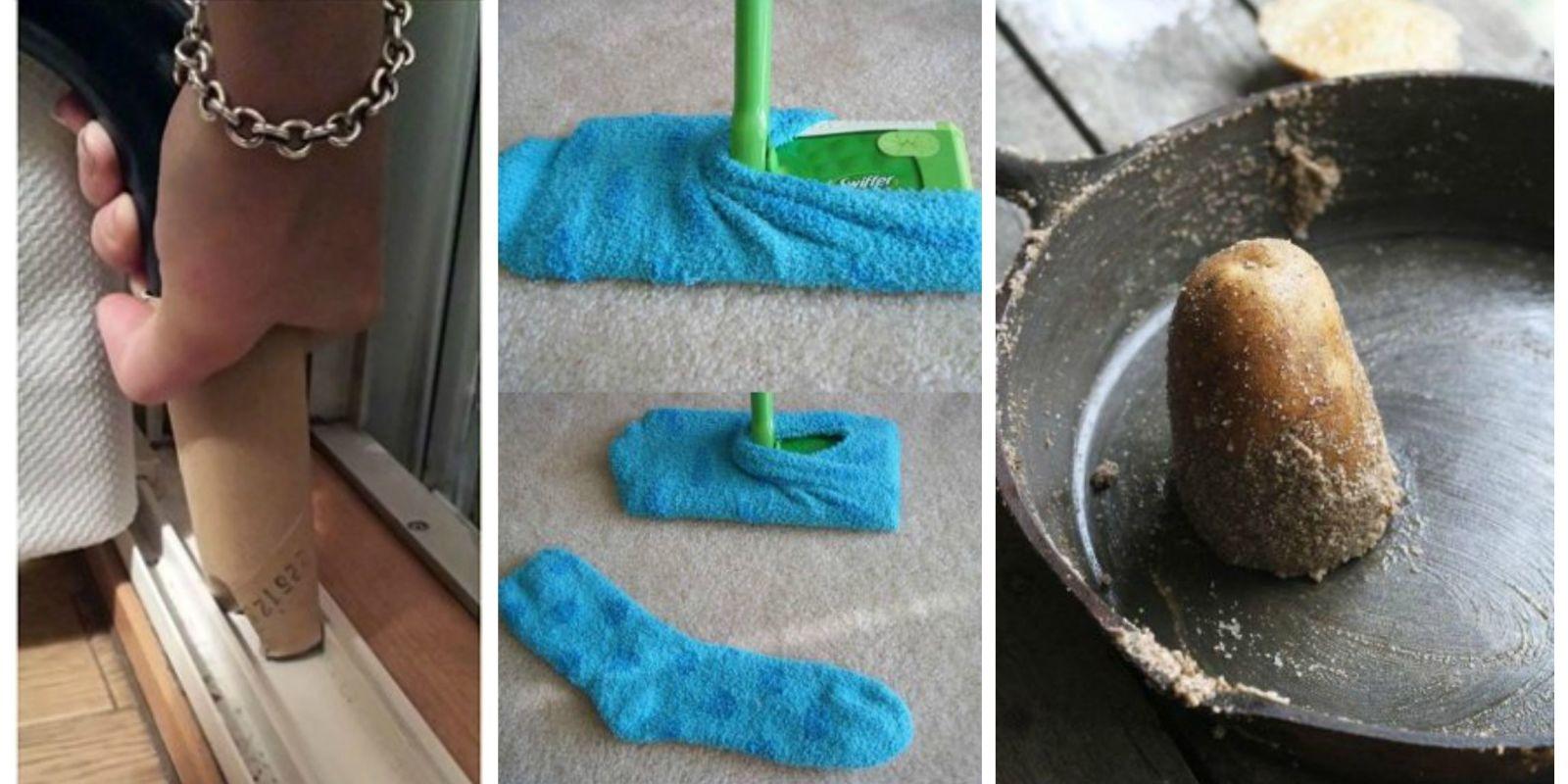 20+ Pinterest Cleaning Hacks