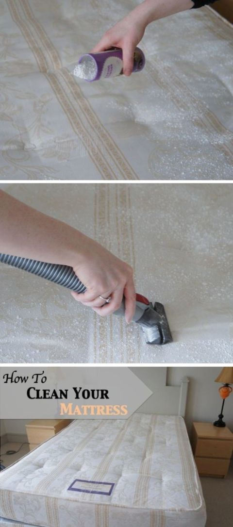 20 pinterest cleaning hacks diy tips for cleaning for Average life of a mattress