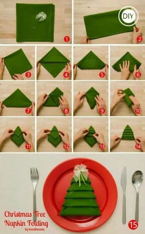 attractive napkin folding Part - 13: attractive napkin folding nice ideas