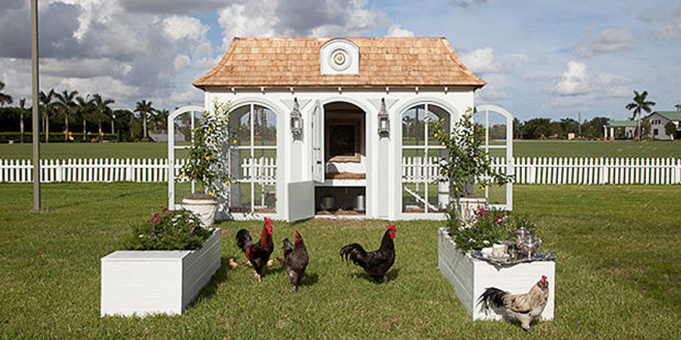 Neiman Marcus Wedding Gifts: This Is What A $100,000 Chicken Coop Looks Like