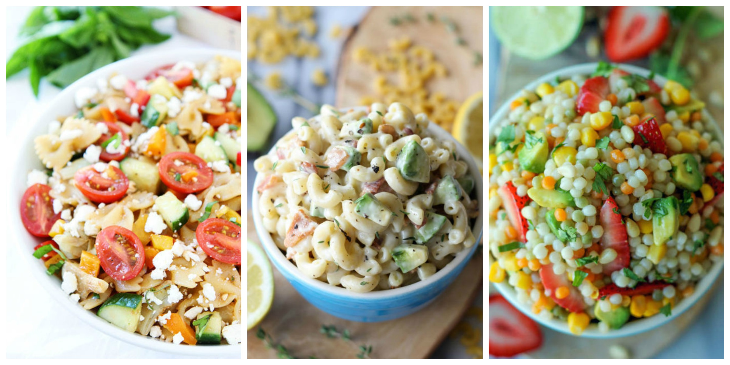 60 Summer Pasta Salad Recipes Easy Ideas For Cold Pasta