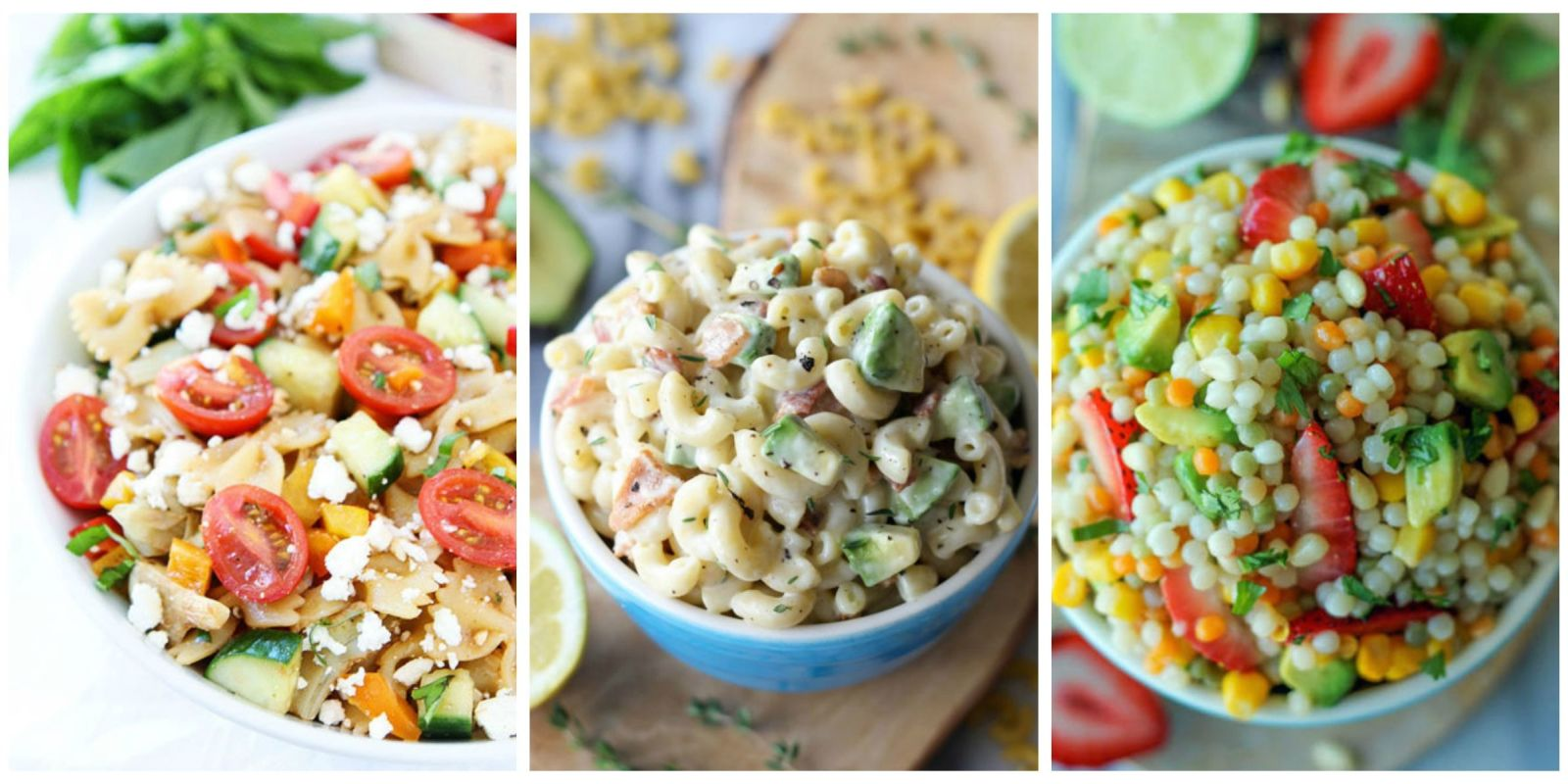 how to make cold pasta salad