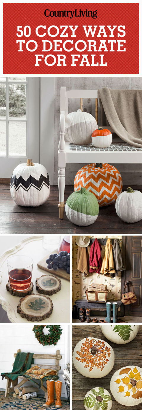 Don't forget to pin these cozy ways to decorate for autumn!