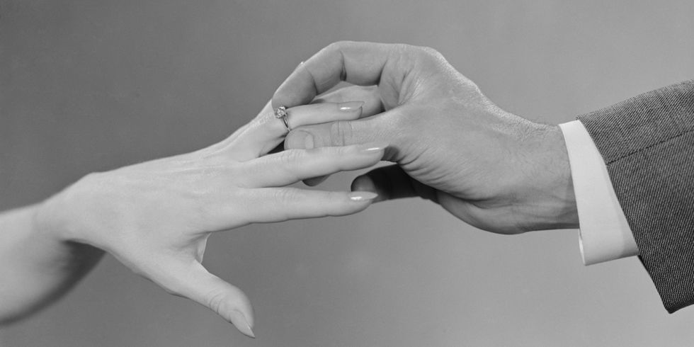 Its Not Very Romantic But The Reason We Wear Them On Our Left Hands Is