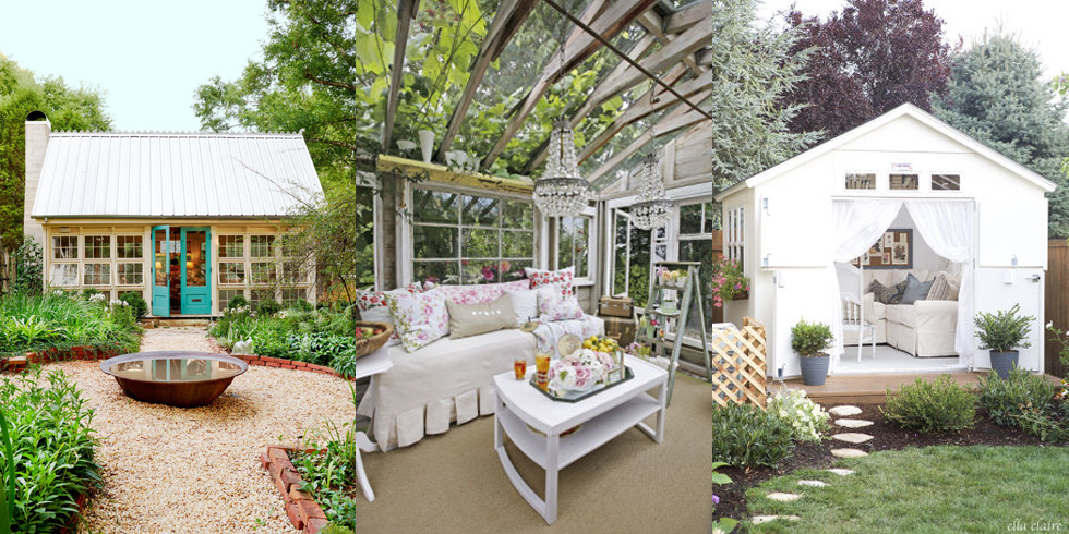 1459456745-country-living-she-shed-inspiration Ideas Small Backyard Get Away on fireplace ideas, fencing ideas, small garden ideas, small fountain ideas, small vegetable garden, small playground ideas, inexpensive landscaping ideas, fire pit ideas, small bedroom ideas, small pool ideas, mailbox landscaping ideas, carport ideas, small homes and cottages, kitchen ideas, small yard landscaping ideas, small japanese garden designs, patio ideas, small bathroom ideas, deck ideas,