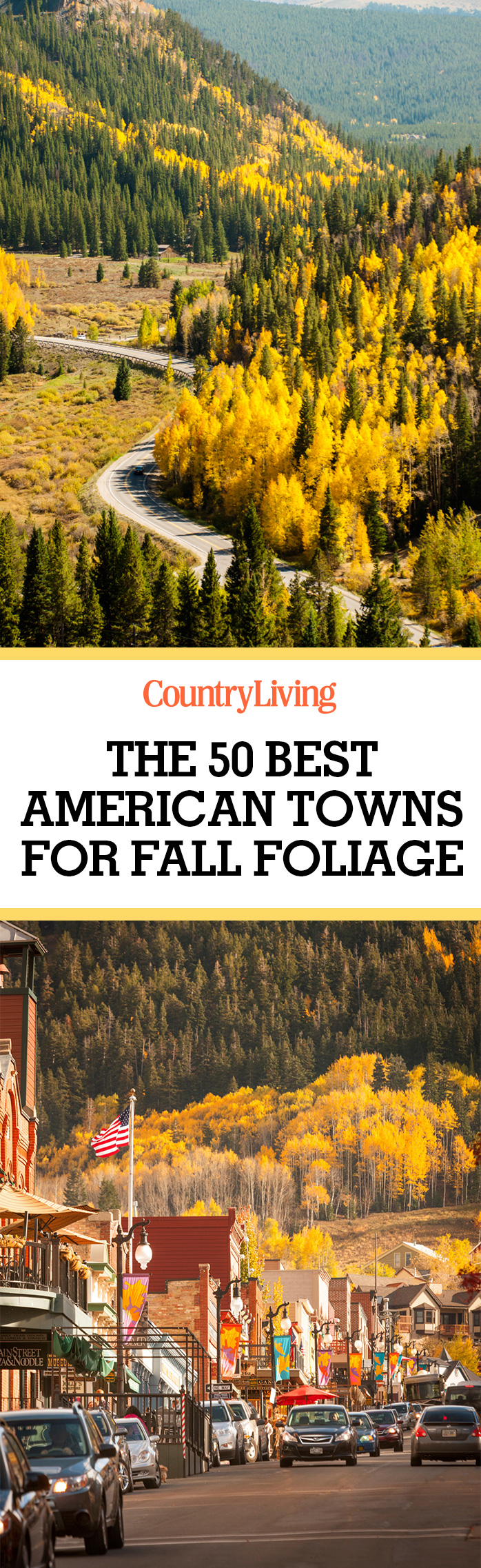 best fall foliage small towns in america leaf peeping destinations