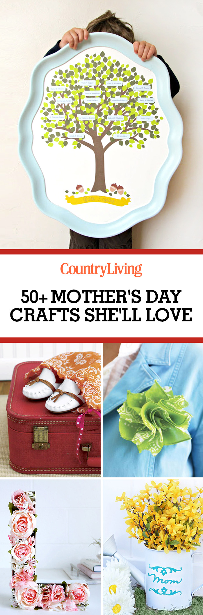 56 easy mothers day crafts diy gifts for mom ideas for What to make for mother s day gift ideas