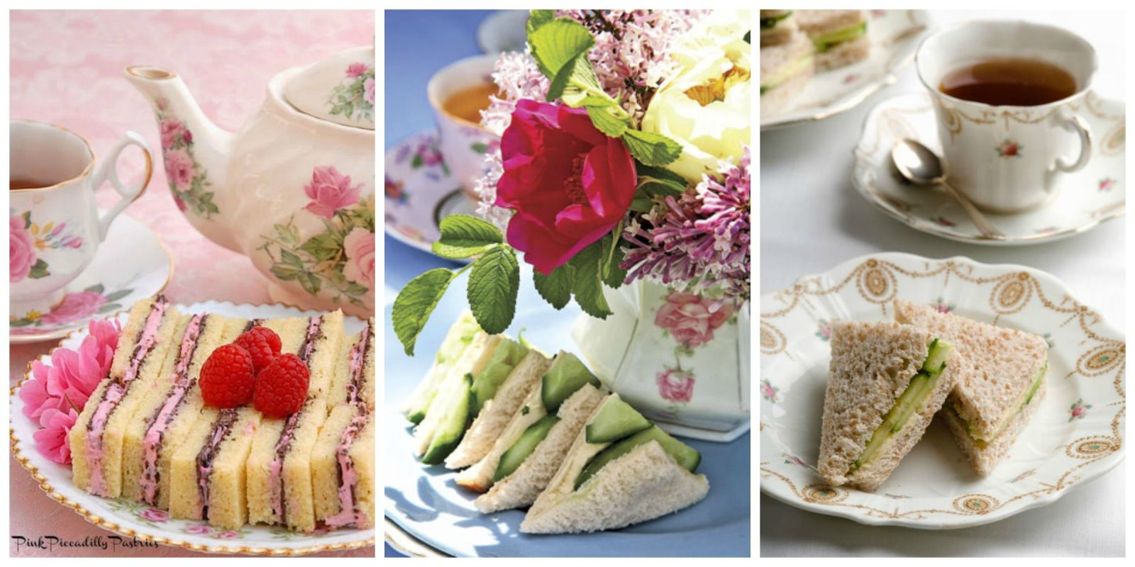 High tea menus and recipes - Tea Party Sandwich Recipes Finger Sandwiches Perfect For Afternoon Tea