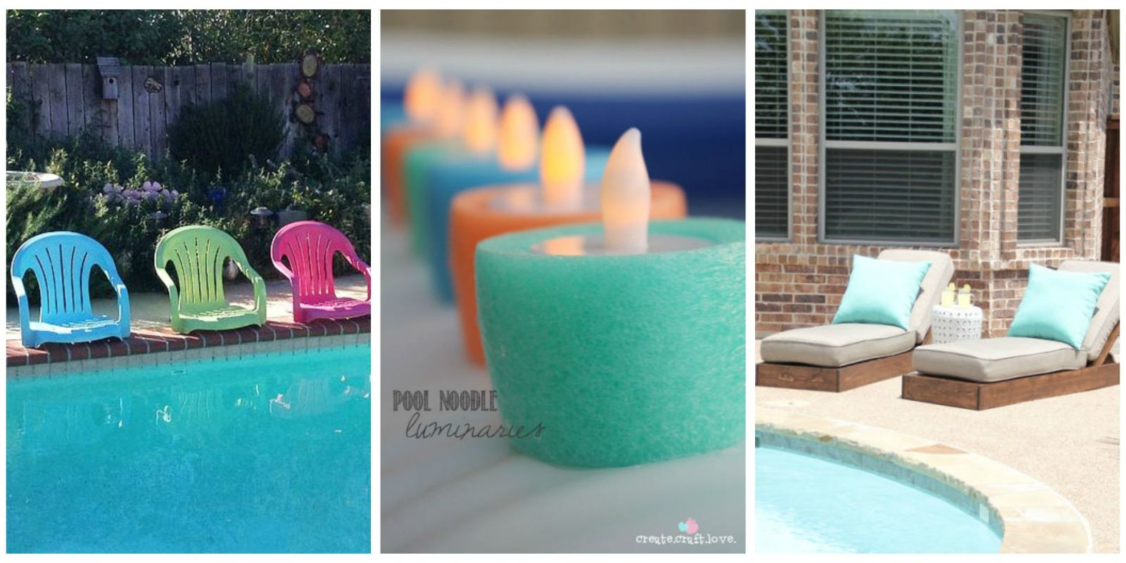 Diy pool ideas pool and backyard decorating ideas for Outdoor pool decorating ideas