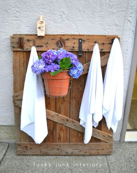 Pool Organization Ideas find this pin and more on organization poolpatio Pool Towel Hanger