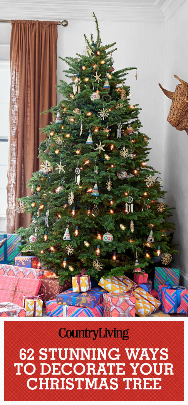 Ideas on decorating a christmas tree - 60 Best Christmas Tree Decorating Ideas How To Decorate A Christmas Tree