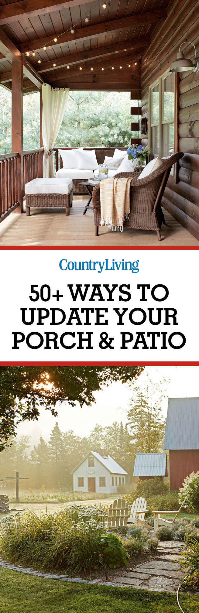 65+ best patio designs for 2017 - ideas for front porch and patio