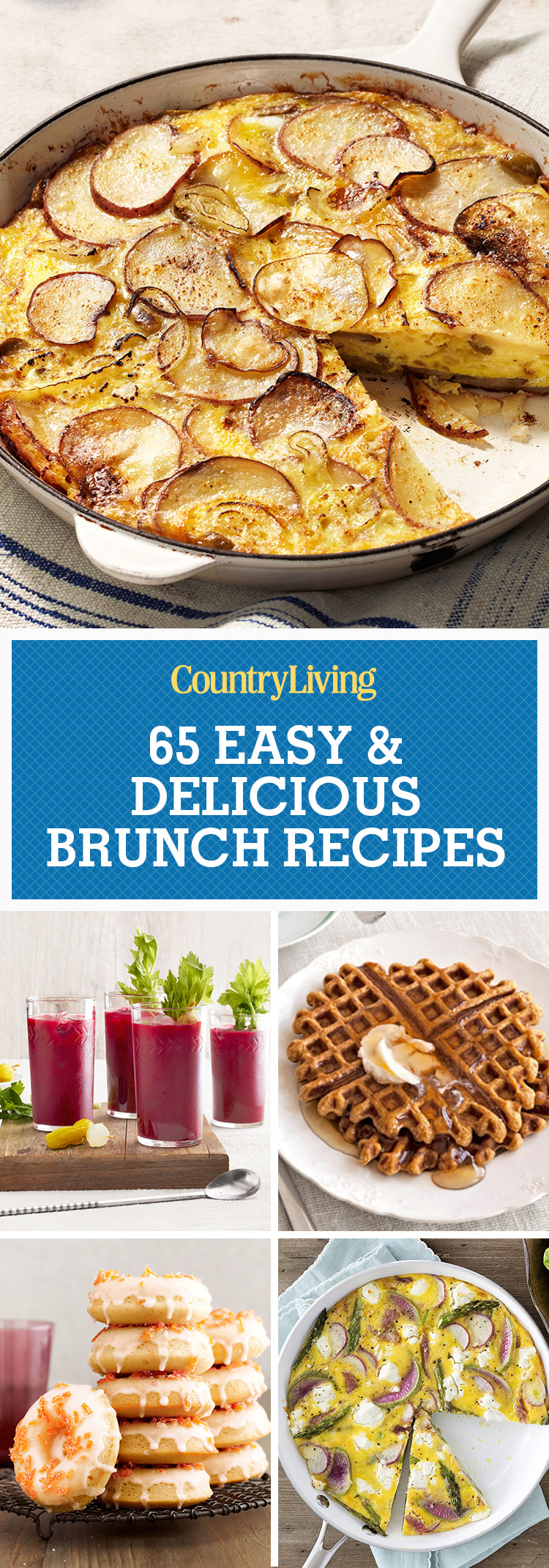 75 easy brunch recipes best brunch menu ideas country for Best brunch menu