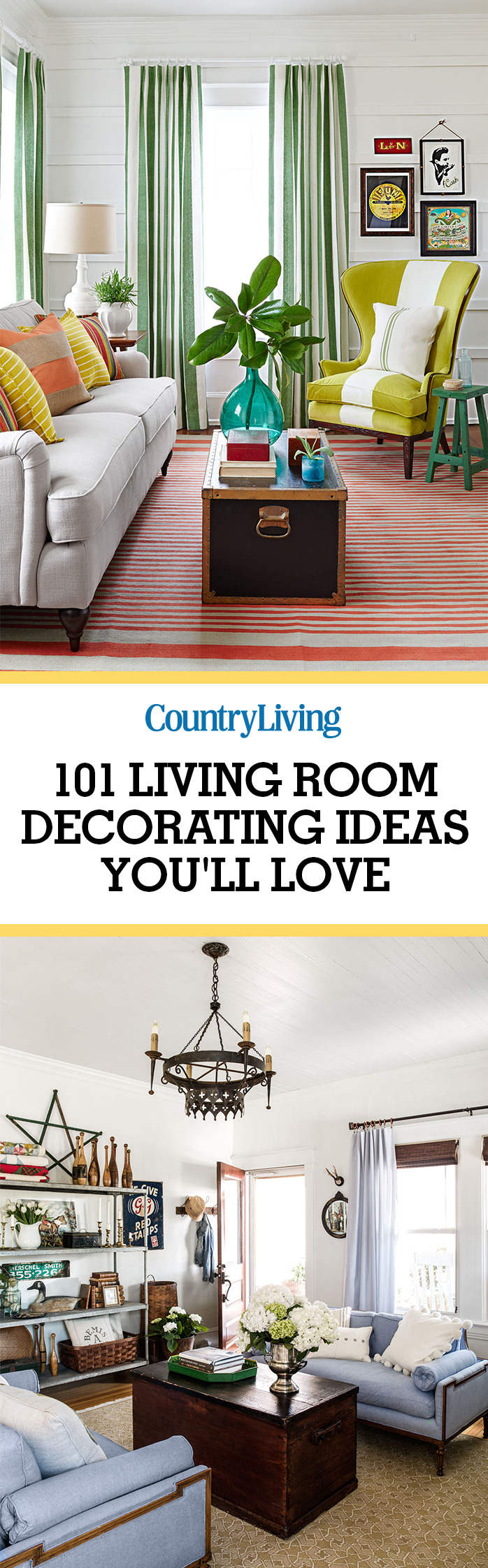 100 Living Room Decorating IdeasDesign Photos of Family Rooms