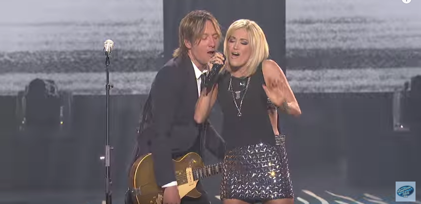 Watch carrie underwood and keith urban 39 s flawless duet on for Carrie underwood and keith urban duet