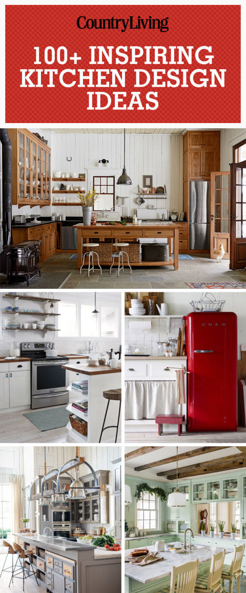 pin these ideas - Farmhouse Kitchen Decorating Ideas