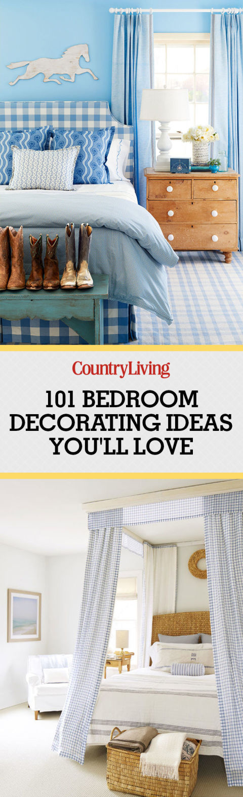 pin these ideas - Country Bedroom Ideas Decorating