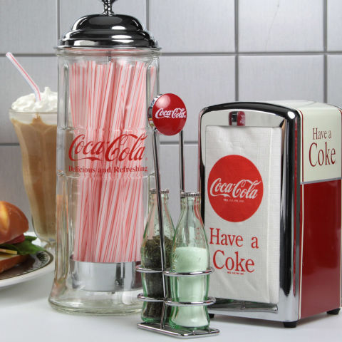 Even if you're not a soda drinker, you can't deny the permanent spot  Coca-Cola has in American culture. Emblazoned on everything from crates to  coolers to ...